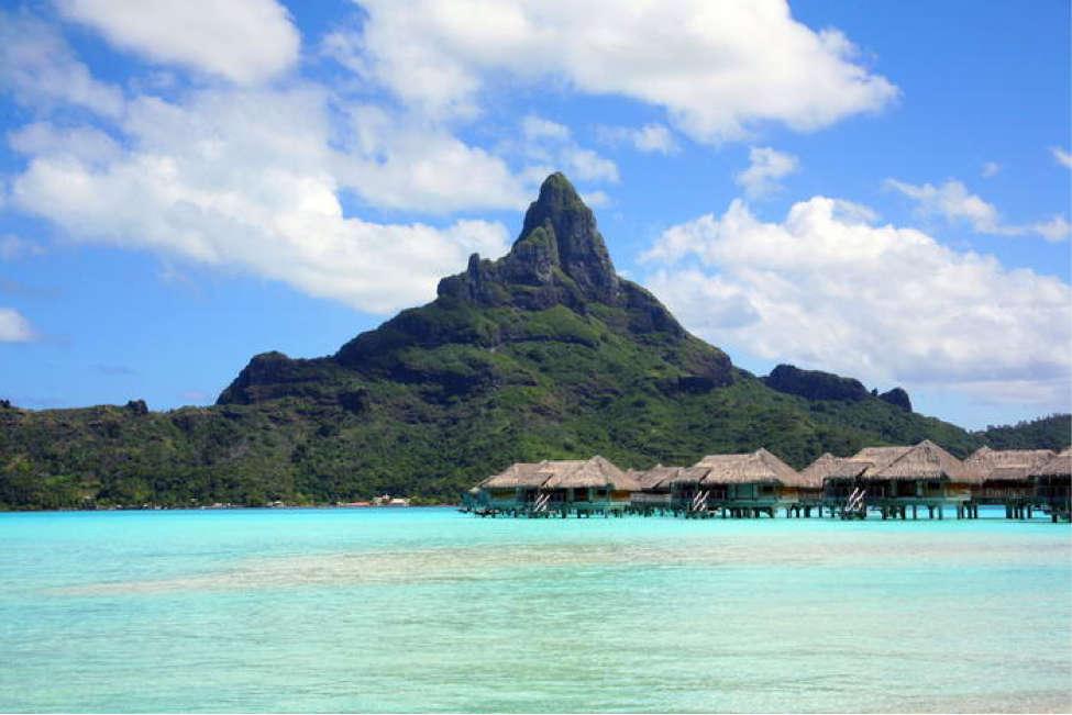 Bora Bora, Polinezia franceză